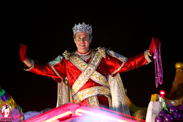 Will Ferrell as King Bacchus 2012