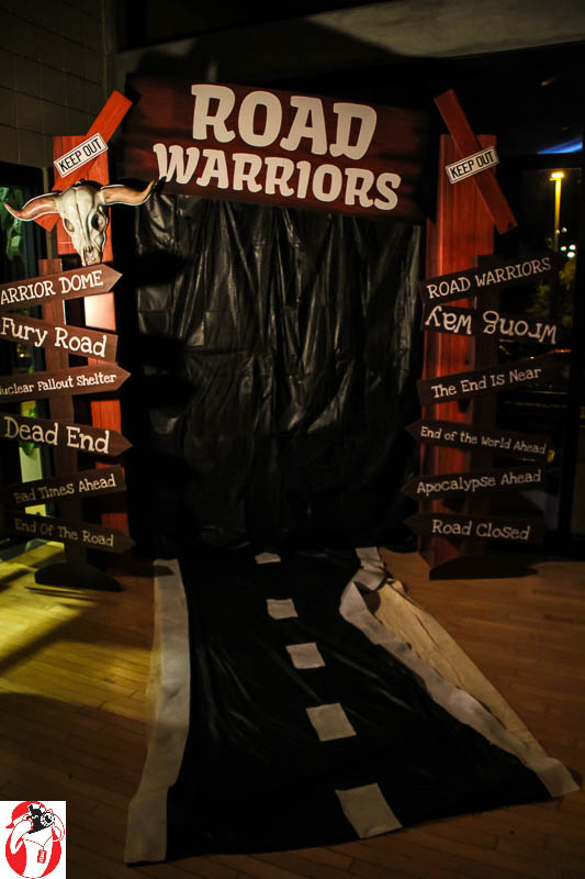 """The Knights of Warriors """"Road Warriors"""" ball"""