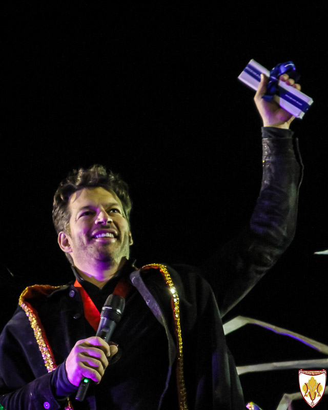 Harry Connick Jr. in the Orpheus 2016 parade
